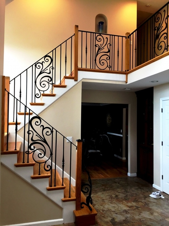 Most Creative Iron Stair Railing Indoor Picture 273