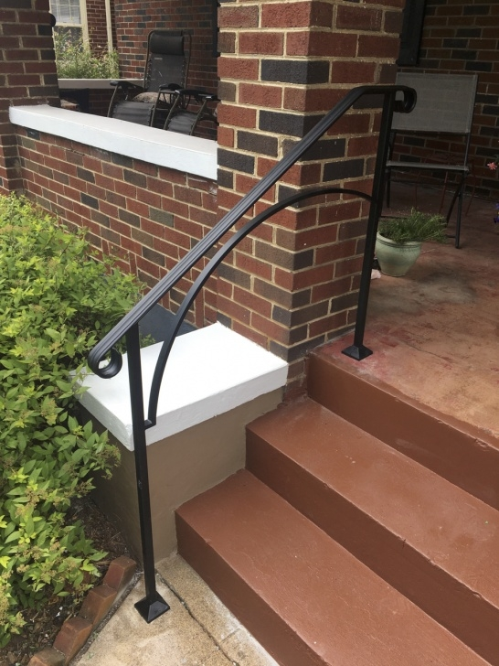 Most Creative Metal Handrails For Concrete Steps Picture 945