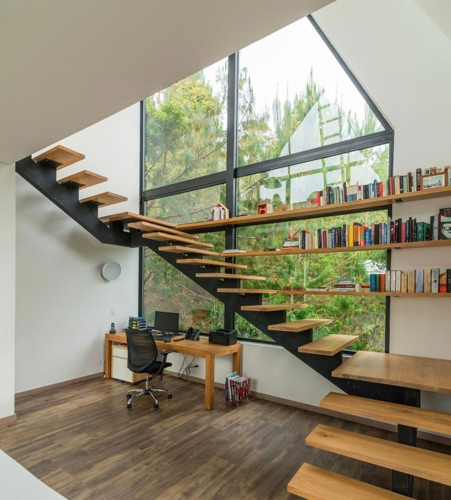 Most Creative Modern Home Stairs Picture 504