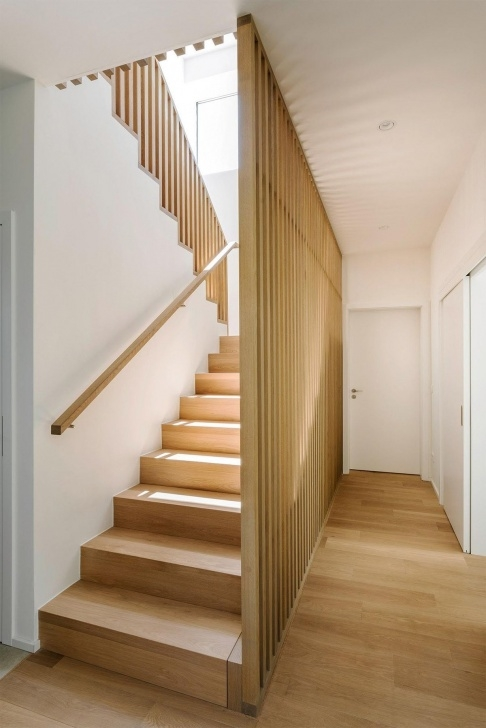 Most Creative Modern Wood Stair Railing Image 111