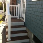 Most Creative Patio With Stairs From House Photo 383