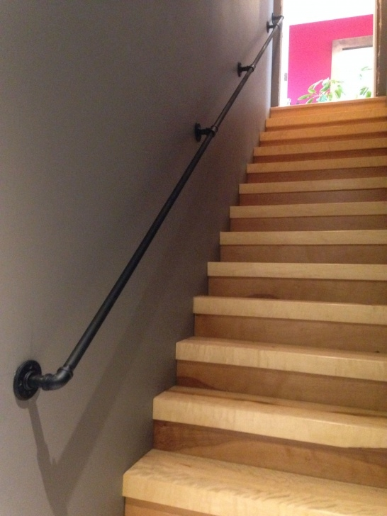 Most Creative Pipe Stair Handrail Picture 960