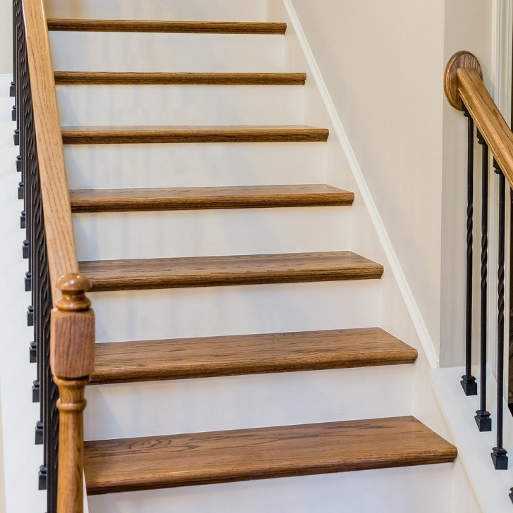 Most Creative Red Oak Stair Treads And Risers Picture 608