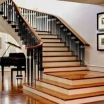Most Creative Simple Staircase Designs For Homes Photo 067