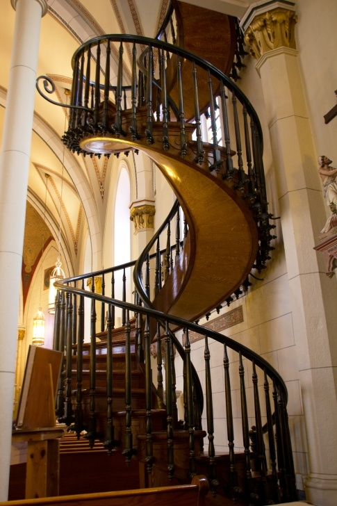 Most Creative Spiral Staircase Loretto Chapel Image 416