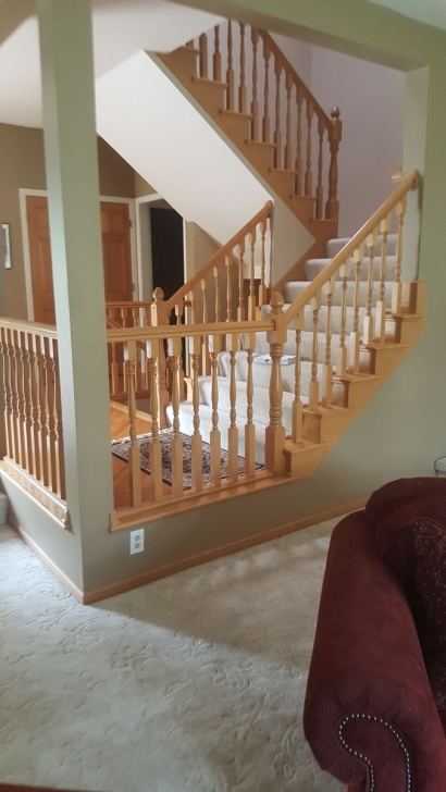 Most Creative Stair Landing Railing Picture 125
