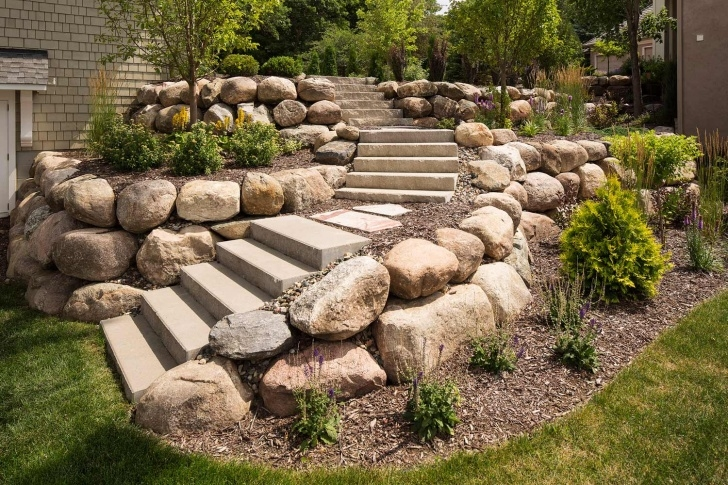 Most Creative Stone Steps Design Photo 244