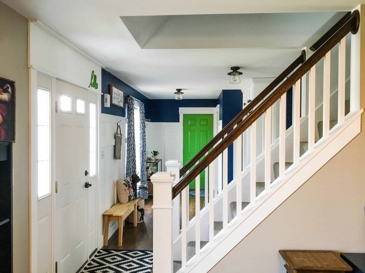 Most Perfect Basement Stairs In Middle Of House Photo 453