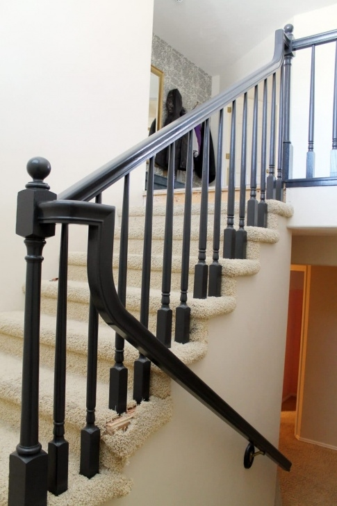 Most Perfect Black Stair Handrail Picture 464