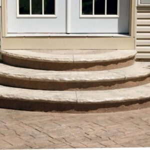 Building Half Round Wood Steps