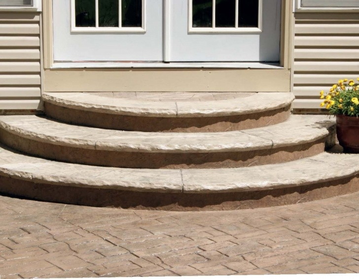 Most Perfect Building Half Round Wood Steps Photo 255