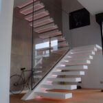 Most Perfect Concrete Stairs Design Indoor Image 100