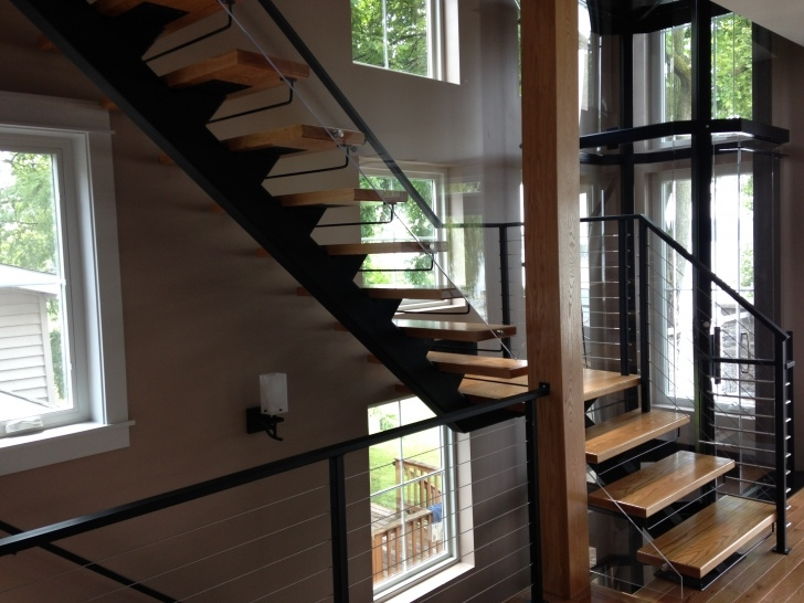 Most Perfect Metal Floating Stairs Picture 657