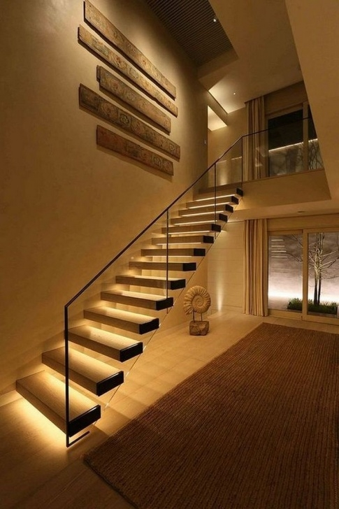 Most Perfect Modern Home Stairs Photo 895