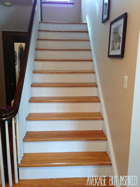 Most Perfect Painted Indoor Stairs Picture 024