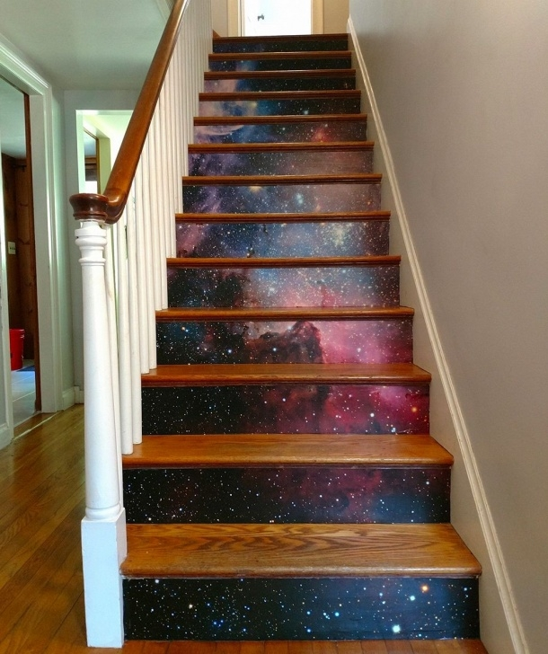 Most Perfect Painted Wooden Stairs Picture 278