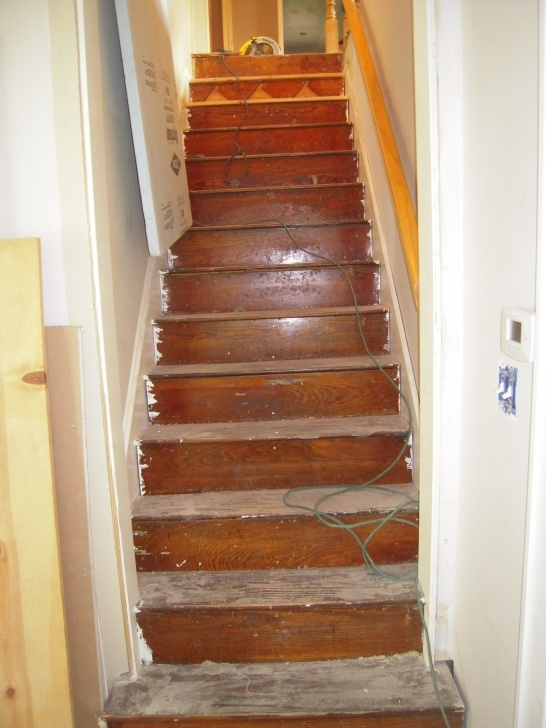Most Perfect Reconfiguring Basement Stairs Image 098