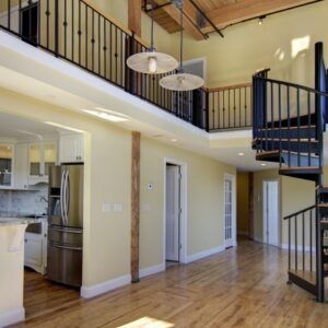Spiral Staircase To Attic Bedroom