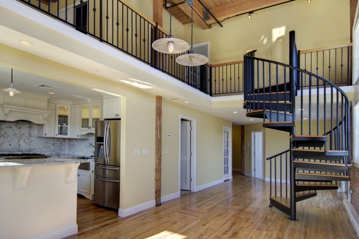 Most Perfect Spiral Staircase To Attic Bedroom Photo 864
