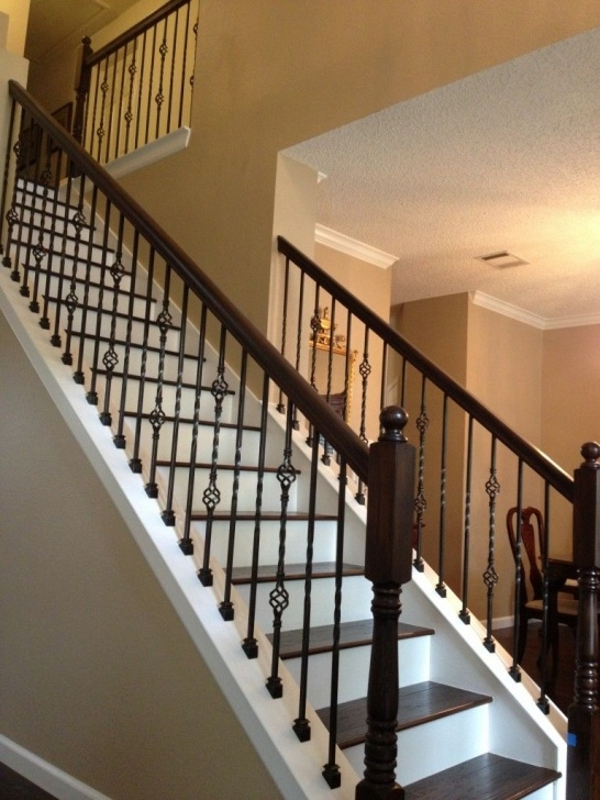 Most Popular Black Iron Stair Railing Image 250
