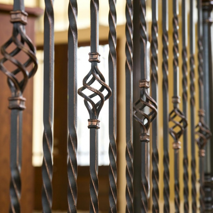 Most Popular Bronze Stair Railing Picture 560