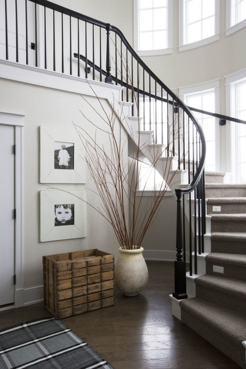 Most Popular Curved Stair Railing Photo 810