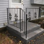 Most Popular Exterior Metal Stair Railing Photo 618
