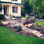 Most Popular Front Yard Stairs Design Picture 590