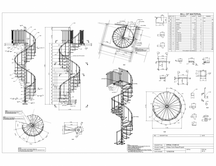 Most Popular Helical Staircase Structural Design Photo 912