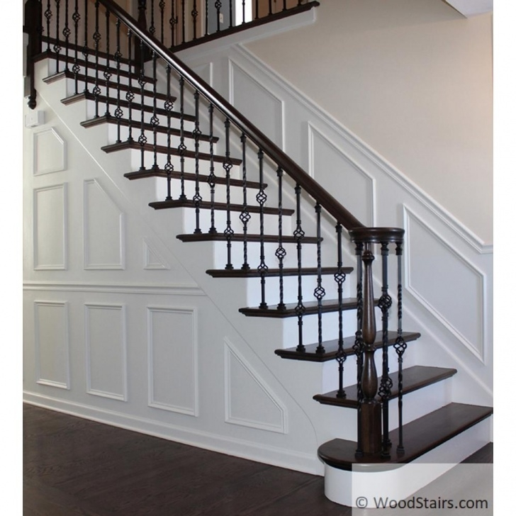 Most Popular Iron Handrails For Stairs Photo 406