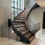 Most Popular Modern Curved Staircase Photo 001