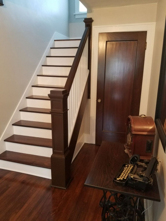 Most Popular Refinishing Hardwood Stairs Image 921