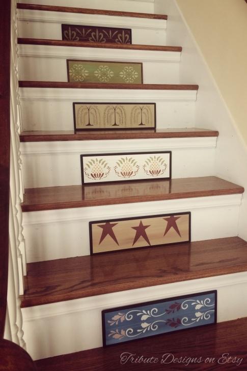 Most Popular Stair Riser Designs Photo 203