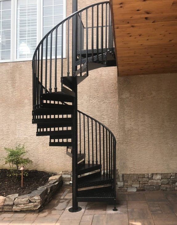 Most Popular Trex Spiral Stairs Picture 966