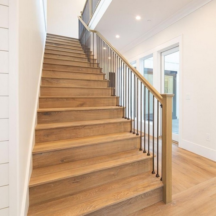 Most Popular White Oak Stairs Picture 667