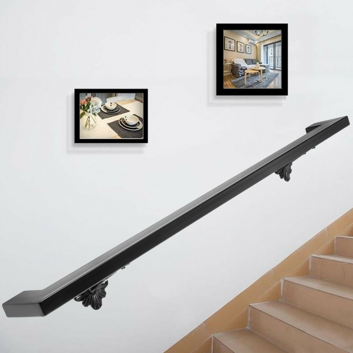 Outstanding Black Stair Handrail Photo 665