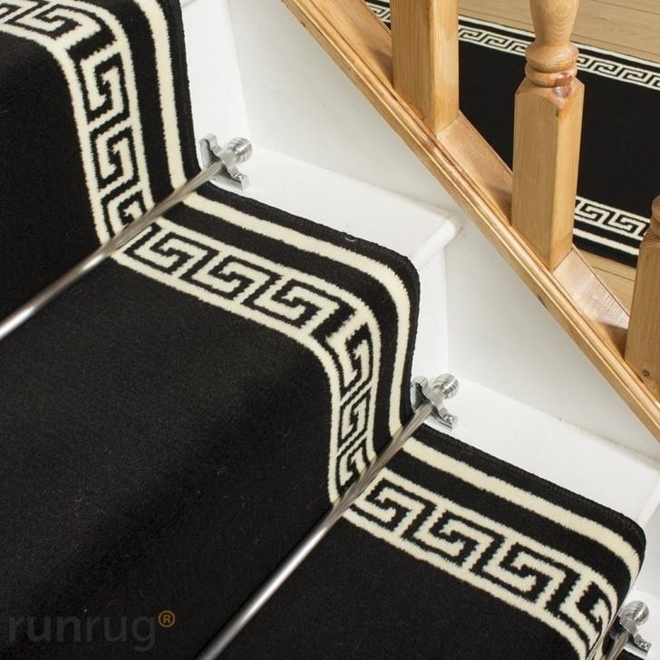 Outstanding Black Stair Runners Image 353