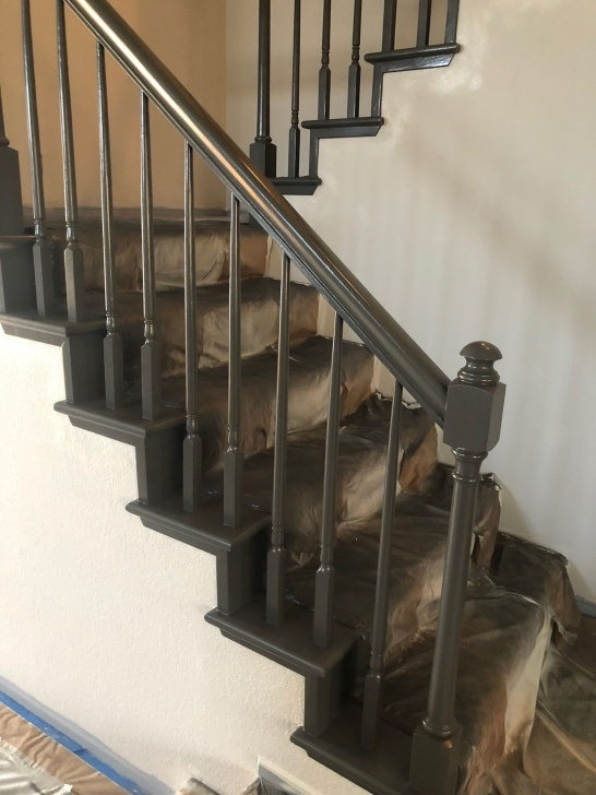 Outstanding Bronze Stair Railing Image 723