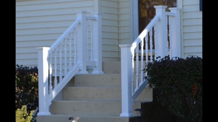 Outstanding Concrete Stair Railing Photo 658