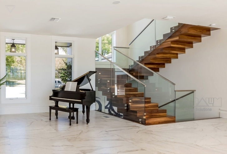 Outstanding Glass Staircase Near Me Image 333
