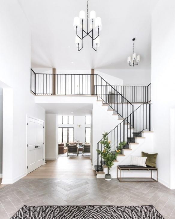 Outstanding Interior Metal Stair Railing Image 696