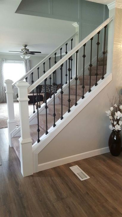 Outstanding Modern Stair Banister Photo 931