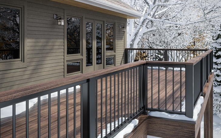 Outstanding Porch Handrails Metal Photo 000