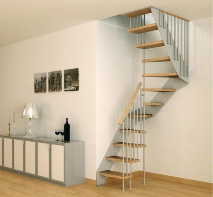 Outstanding Stairs For Small Spaces Photo 687