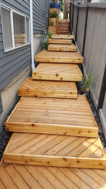 Outstanding Wood Deck Steps Photo 277