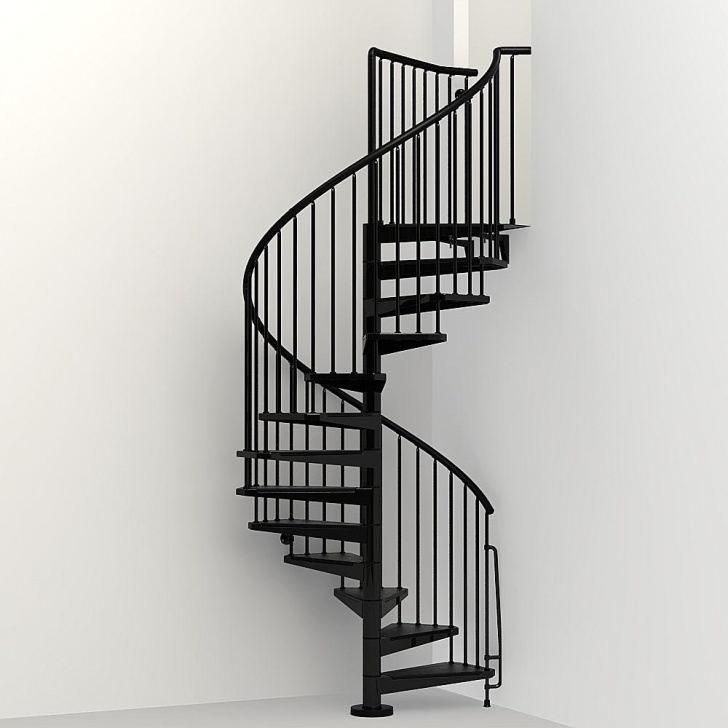 Perfect Black Spiral Staircase Photo 551