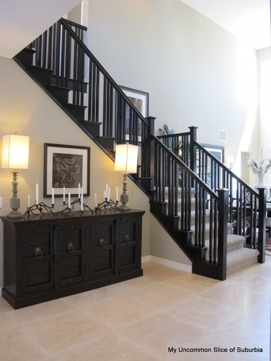 Perfect Black Stair Railing Image 727