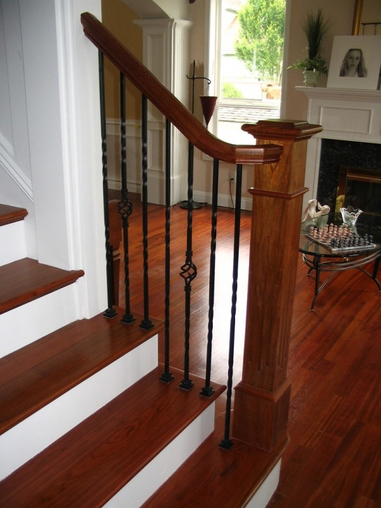 Perfect Brazilian Cherry Stair Treads Picture 834