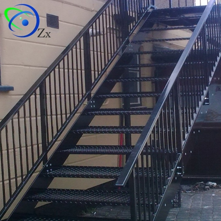 Perfect Exterior Metal Stairs Photo 257