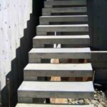 Perfect Floating Concrete Steps Designs Image 872